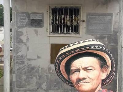 La tumba olvidada del juglar  Juancho Polo Valencia