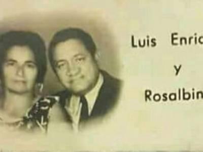 Las bodas de plata de Luis Enrique Martínez con Rosalbina