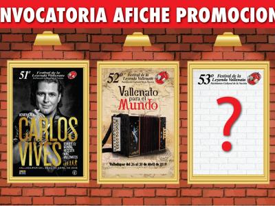 Desde hoy está abierta la convocatoria para el afiche promocional del 53° Festival de la Leyenda Vallenata