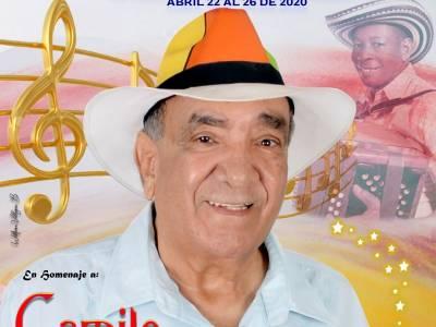 Concursos del 32° Festival Pedazo de Acordeón, homenaje a Camilo Namen Rapalino