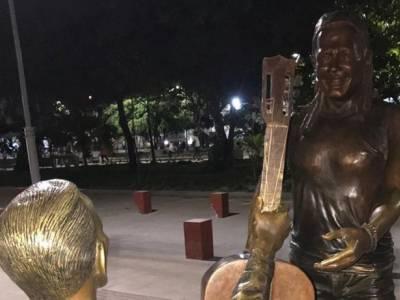 Carlos Vives surigió cambios a su estatua en Ciénaga