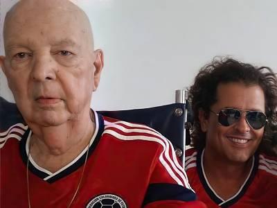 Carlos Vives, con la nota más triste