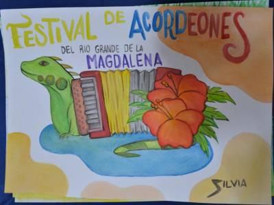 Ganadores del Primer Concurso de Pintura alusivo al folclor vallenato